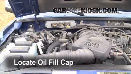 1999 Ford Ranger XLT 4.0L V6 Extended Cab Pickup (4 Door) Oil